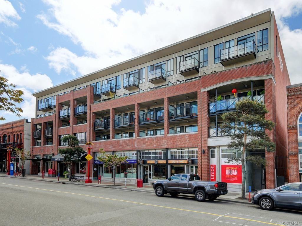 Main Photo: 312 517 Fisgard St in : Vi Downtown Condo for sale (Victoria)  : MLS®# 874546