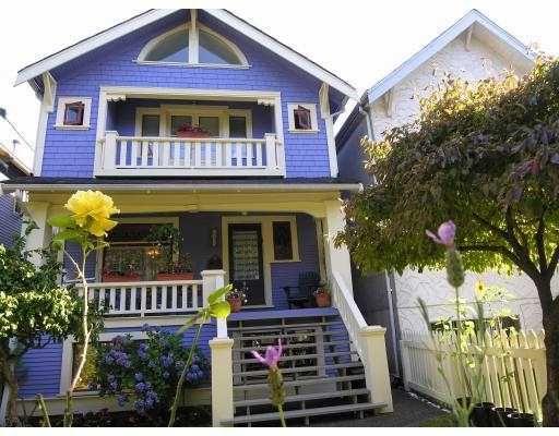 Main Photo: 3022 W 6TH AV in Vancouver: Kitsilano House for sale (Vancouver West)  : MLS®# V551462
