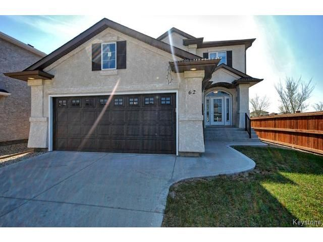 Main Photo: 62 Prairie Sky Drive in WINNIPEG: Fort Garry / Whyte Ridge / St Norbert Residential for sale (South Winnipeg)  : MLS®# 1503707