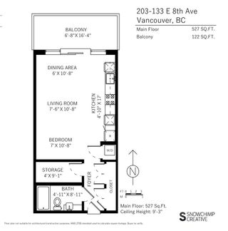 "Photo 14: 203 133 E 8TH Avenue in Vancouver: Mount Pleasant VE Condo for sale in ""Studio 45"" (Vancouver East)  : MLS®# R2223309"