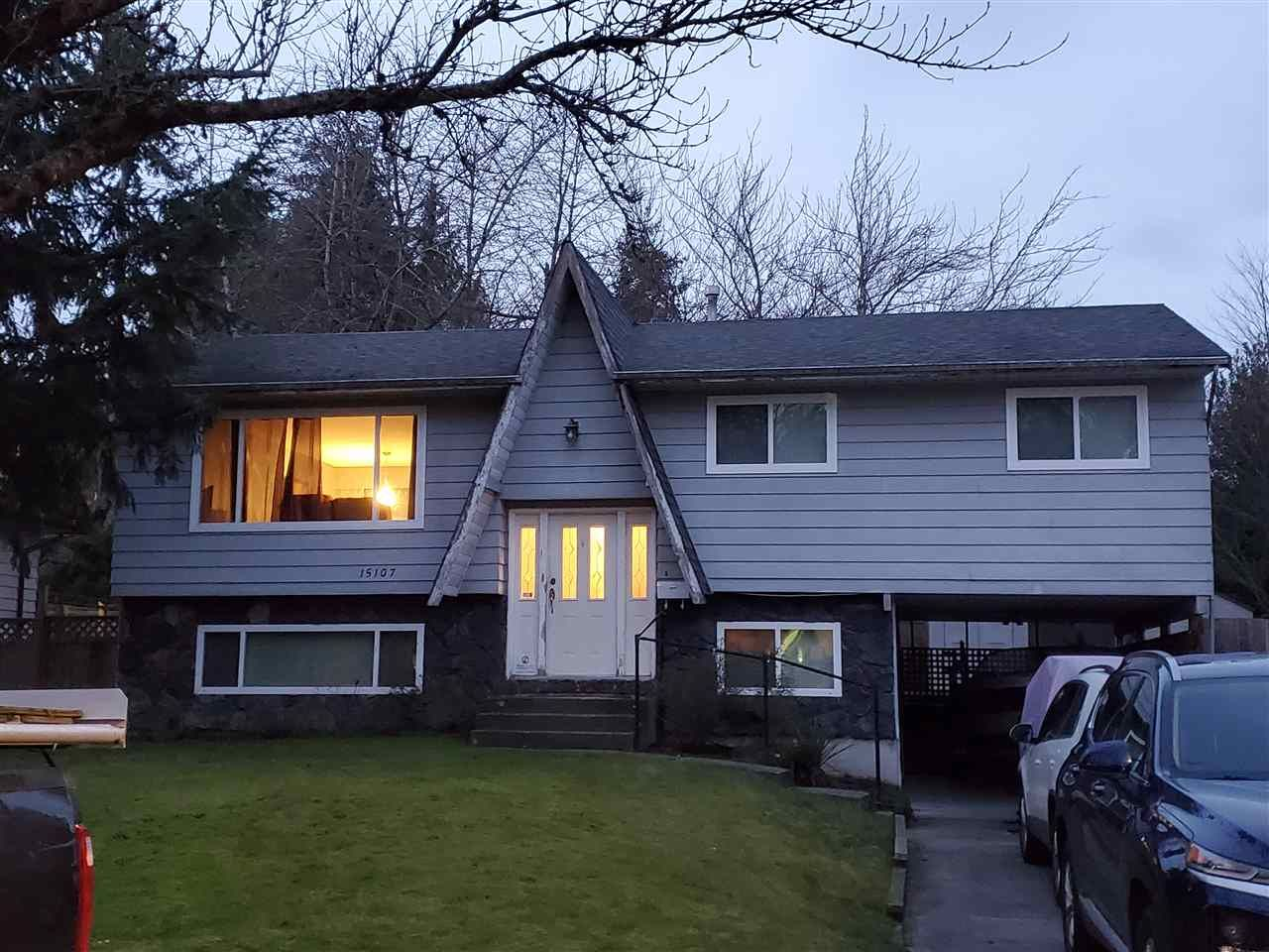 Main Photo: 15107 86B Avenue in Surrey: Bear Creek Green Timbers House for sale : MLS®# R2535064