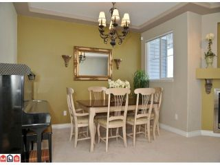 """Photo 6: 9 16760 61ST Avenue in Surrey: Cloverdale BC Townhouse for sale in """"Harvest Landing"""" (Cloverdale)  : MLS®# F1106034"""