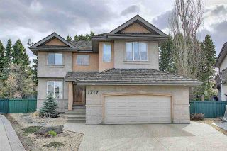Photo 1: 1717 Hector Place in Edmonton: Zone 14 House for sale : MLS®# E4241604
