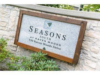 """Photo 22: # 208 530 RAVEN WOODS DR in North Vancouver: Roche Point Condo for sale in """"Seasons South at Ravenwoods"""" : MLS®# V1024288"""