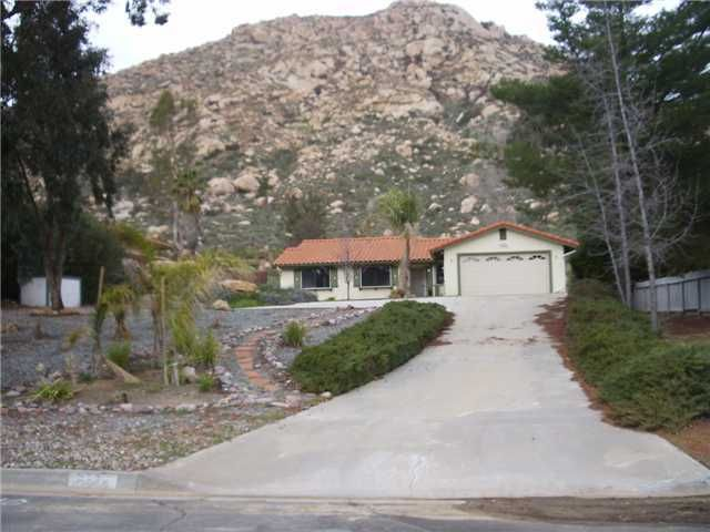 Main Photo: RAMONA House for sale : 3 bedrooms : 25440 Bellemore Drive
