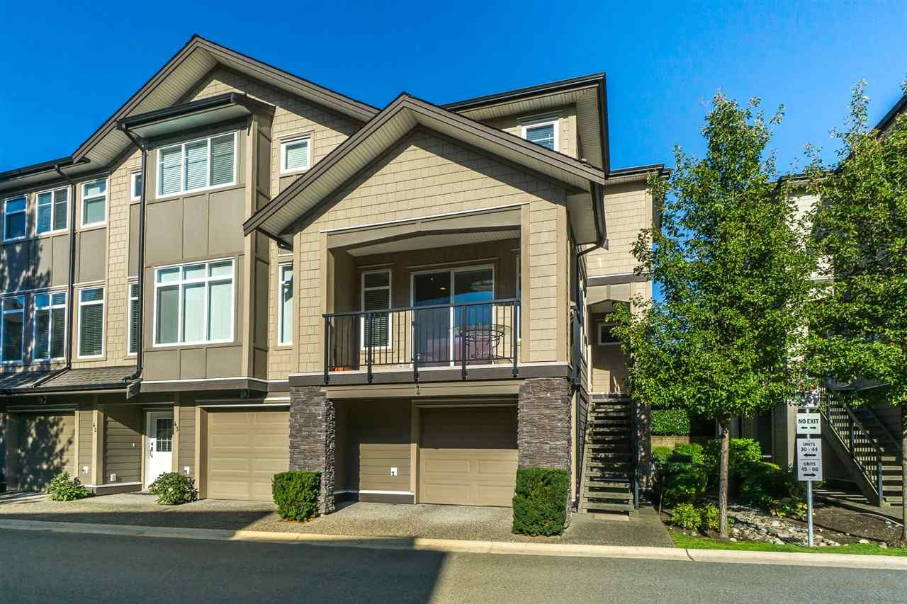 """Main Photo: 44 22865 TELOSKY Avenue in Maple Ridge: East Central Townhouse for sale in """"WINDSONG"""" : MLS®# R2313663"""