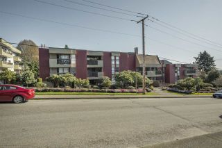 """Photo 1: 210 1040 FOURTH Avenue in New Westminster: Uptown NW Condo for sale in """"HILLSIDE TERRACE"""" : MLS®# R2557518"""