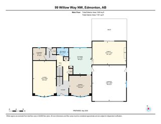 Photo 46: 99 Willow Way in Edmonton: Zone 22 House for sale : MLS®# E4229468