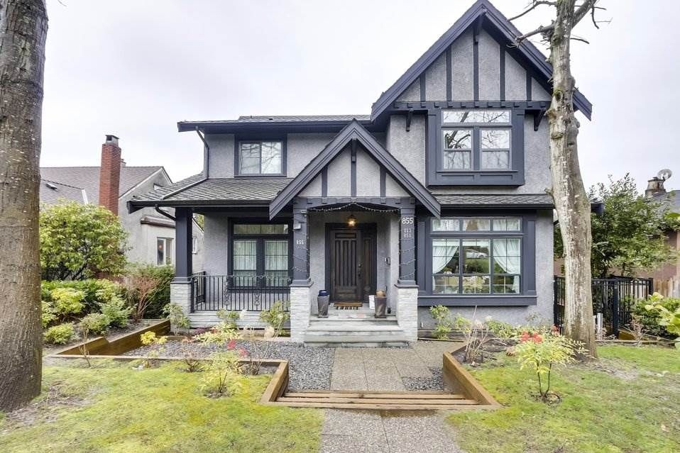Main Photo: 855 W KING EDWARD Avenue in Vancouver: Cambie House for sale (Vancouver West)  : MLS®# R2556542