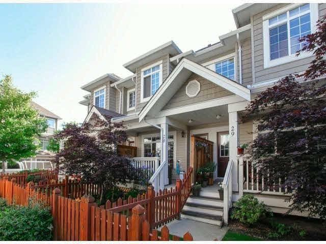 """Main Photo: 28 6852 193RD Street in Surrey: Clayton Townhouse for sale in """"INDIGO"""" (Cloverdale)  : MLS®# F1426154"""