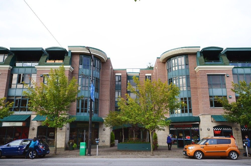 Main Photo: 201 2665 W. Broadway in Macguire Building: Kitsilano Home for sale ()  : MLS®# V1027888