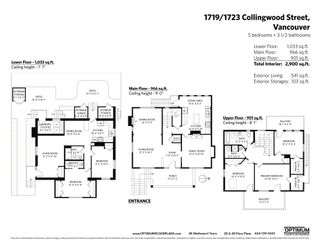 Photo 38: 1719 COLLINGWOOD Street in Vancouver: Kitsilano House for sale (Vancouver West)  : MLS®# R2595778