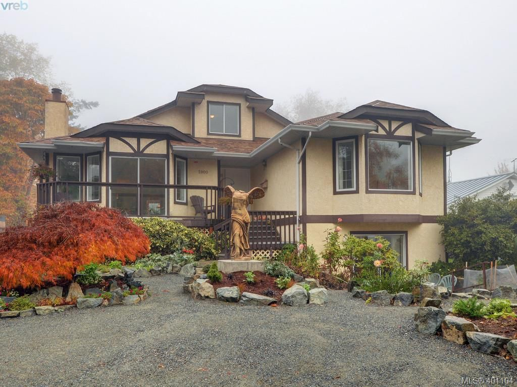 Main Photo: 2800 Austin Ave in VICTORIA: SW Gorge House for sale (Saanich West)  : MLS®# 800400