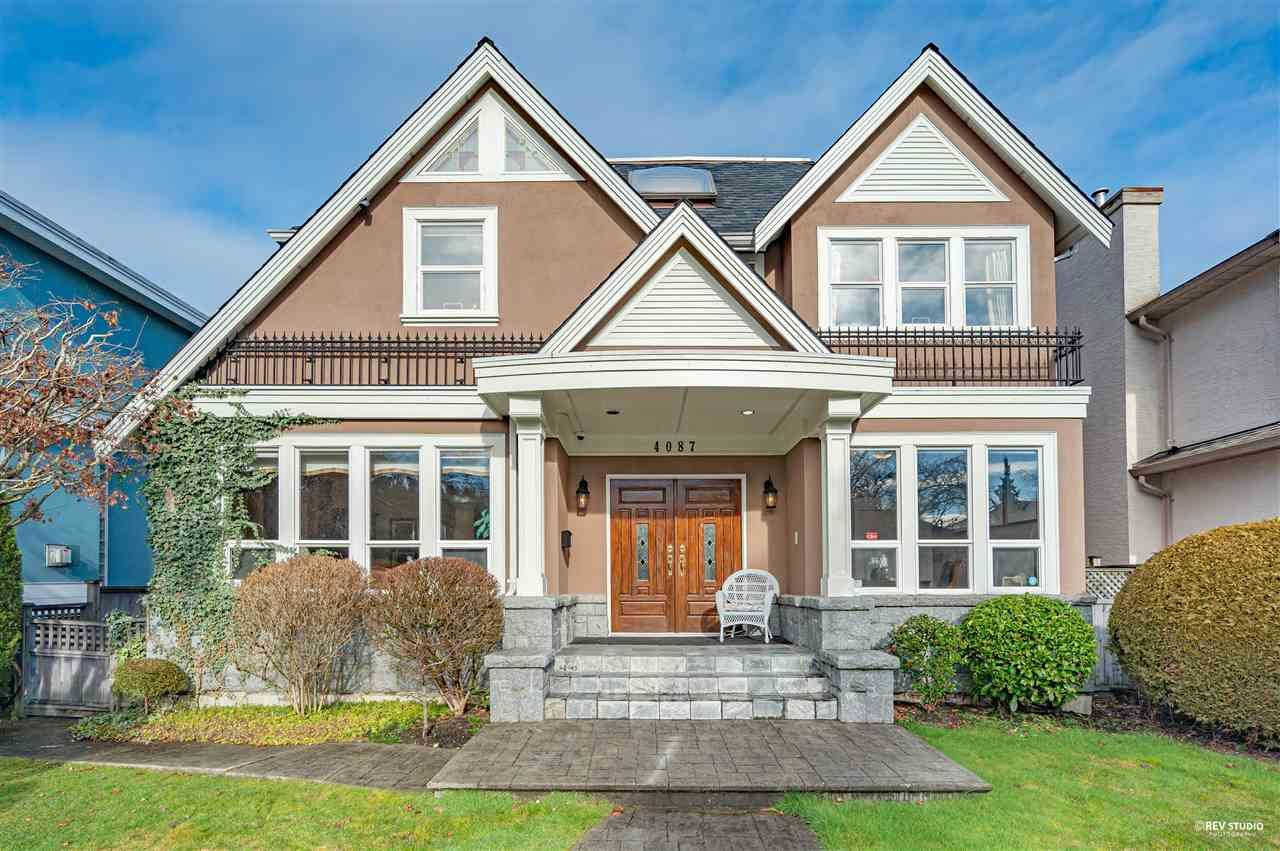 Main Photo: 4087 W 38TH Avenue in Vancouver: Dunbar House for sale (Vancouver West)  : MLS®# R2537881