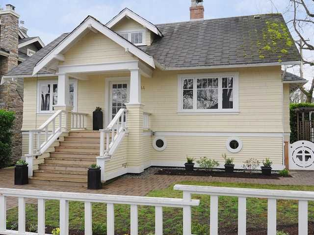 """Main Photo: 3494 W 20TH Avenue in Vancouver: Dunbar House for sale in """"DUNBAR"""" (Vancouver West)  : MLS®# V938229"""