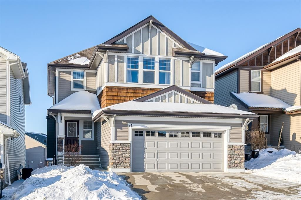Main Photo: 71 Sunset View: Cochrane Detached for sale : MLS®# A1056946