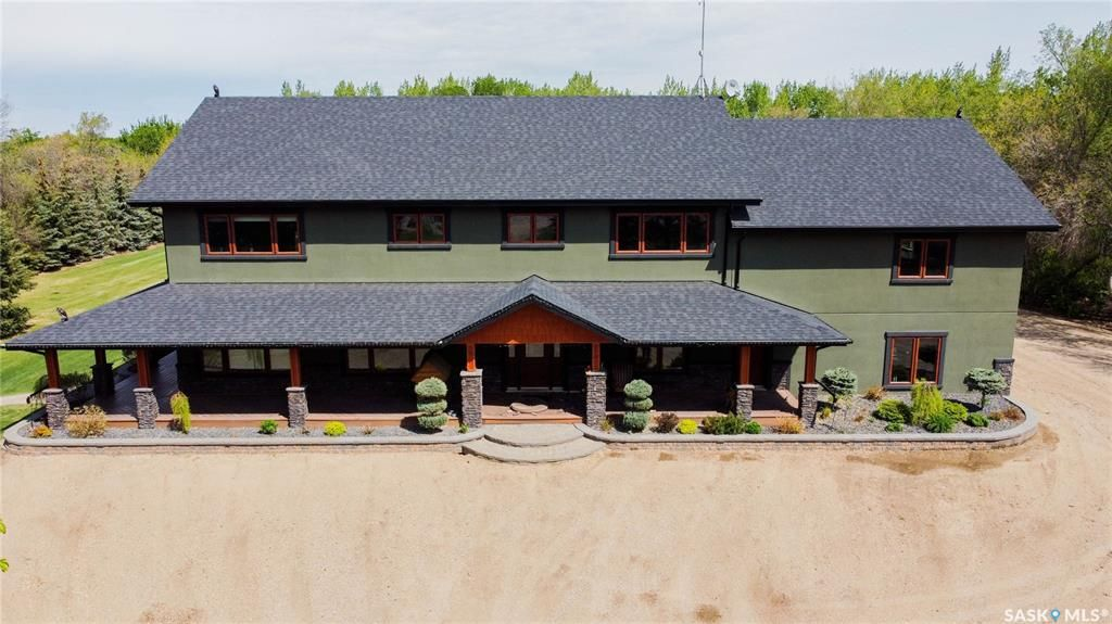 Main Photo: Heidel Acreage in North Battleford: Residential for sale (North Battleford Rm No. 437)  : MLS®# SK869863