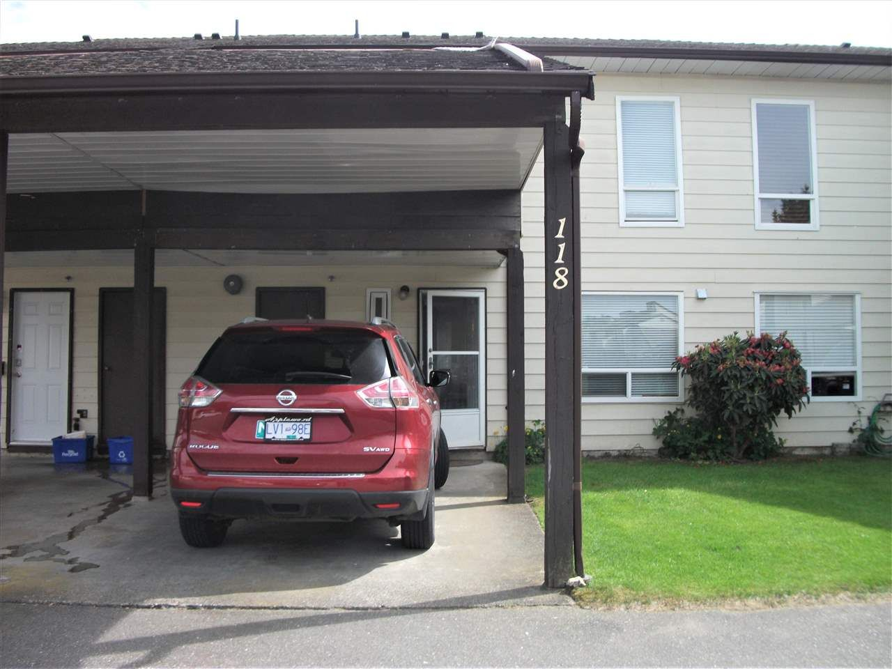 """Main Photo: 118 2844 273 Street in Langley: Aldergrove Langley Townhouse for sale in """"Chelsea Court"""" : MLS®# R2587038"""