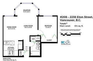 "Photo 15: 208 2238 ETON Street in Vancouver: Hastings Condo for sale in ""Eton Heights"" (Vancouver East)  : MLS®# R2121109"