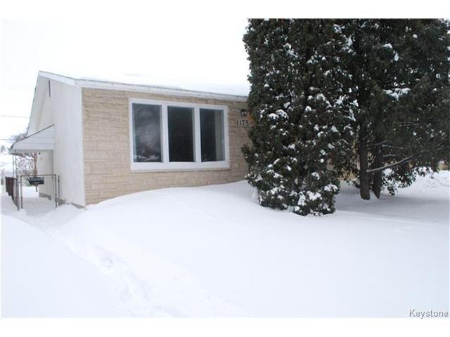 Main Photo: 1175 Polson Avenue in WINNIPEG: North End Residential for sale (North West Winnipeg)  : MLS®# 1400336