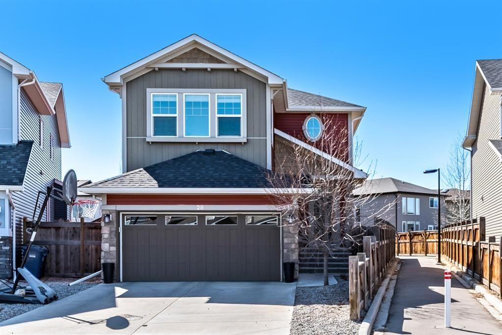 Main Photo: 28 Auburn Glen View SE in Calgary: Auburn Bay Detached for sale : MLS®# A1095232
