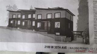 Photo 1: 2109 W 35TH Avenue in Vancouver: Quilchena Land for sale (Vancouver West)  : MLS®# R2515552