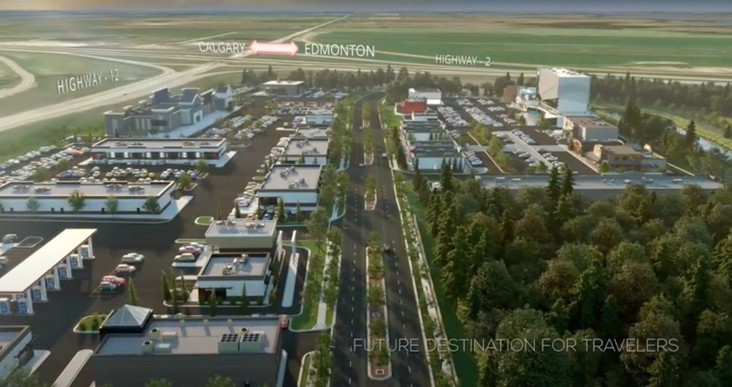 Main Photo: 7609 Henderson Way: Lacombe Retail for lease : MLS®# E4265003