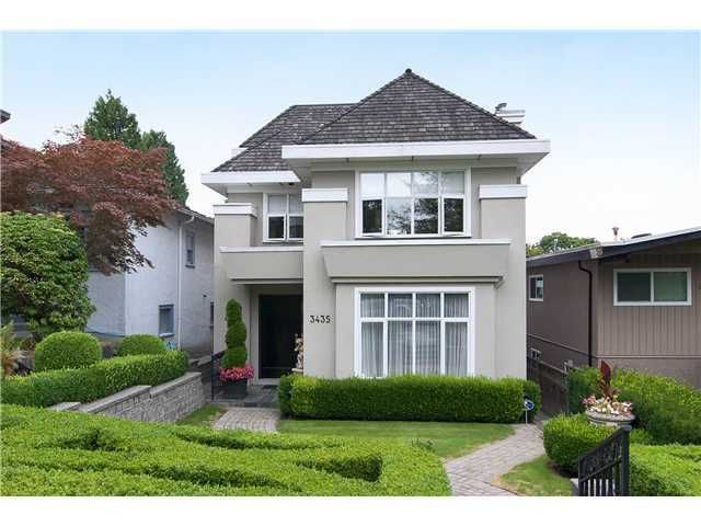Main Photo: 3435 W 30TH Avenue in Vancouver: Dunbar House for sale (Vancouver West)  : MLS®# V985237