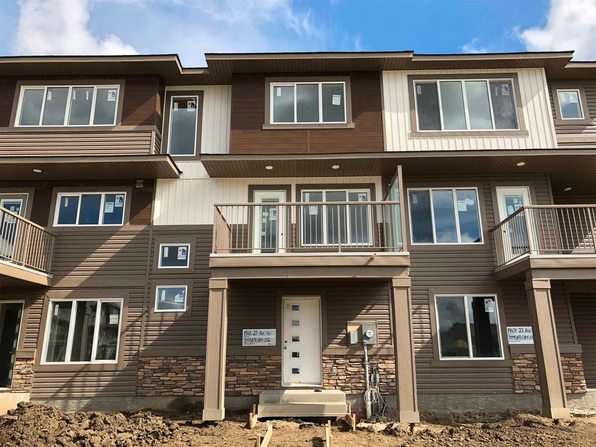 Main Photo: 1248 Aster Boulevard in Edmonton: Zone 30 Attached Home for sale : MLS®# E4245769