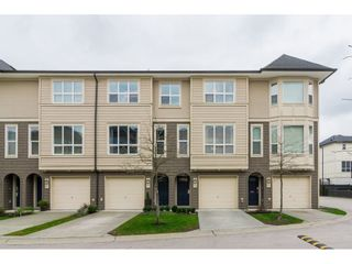 "Photo 1: 129 7938 209 Street in Langley: Willoughby Heights Townhouse for sale in ""Red Maple Park"" : MLS®# R2335783"