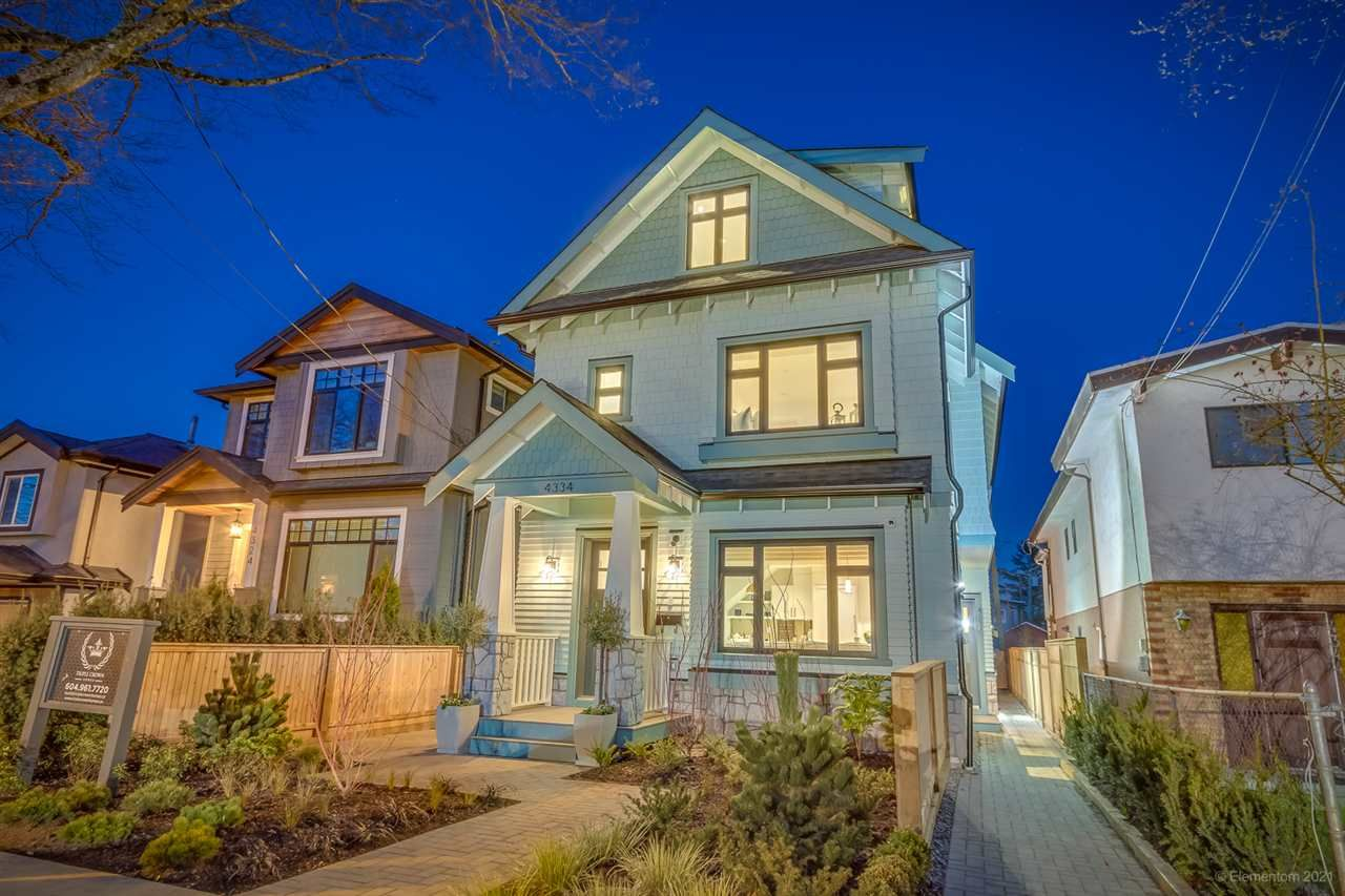 Main Photo: 4334 PRINCE EDWARD Street in Vancouver: Fraser VE 1/2 Duplex for sale (Vancouver East)  : MLS®# R2559491