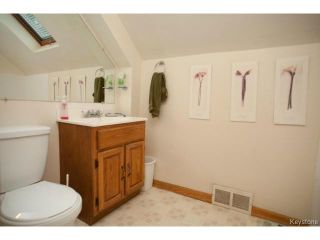 Photo 16: 248 Kitson Street in WINNIPEG: St Boniface Residential for sale (South East Winnipeg)  : MLS®# 1424288