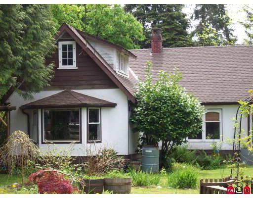 "Main Photo: 24578 54TH Avenue in Langley: Salmon River House for sale in ""ALDERGROVE"" : MLS®# F2910891"