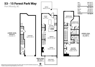 Photo 30: 53 15 FOREST PARK WAY in Port Moody: Heritage Woods PM Townhouse for sale : MLS®# R2540995