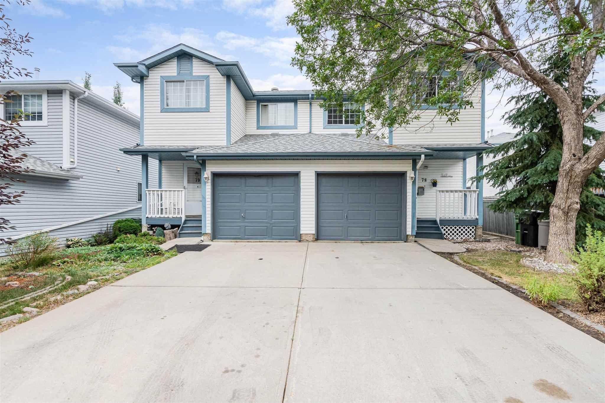 Main Photo: 78 501 Youville Drive E in Edmonton: Zone 29 House Half Duplex for sale : MLS®# E4255513