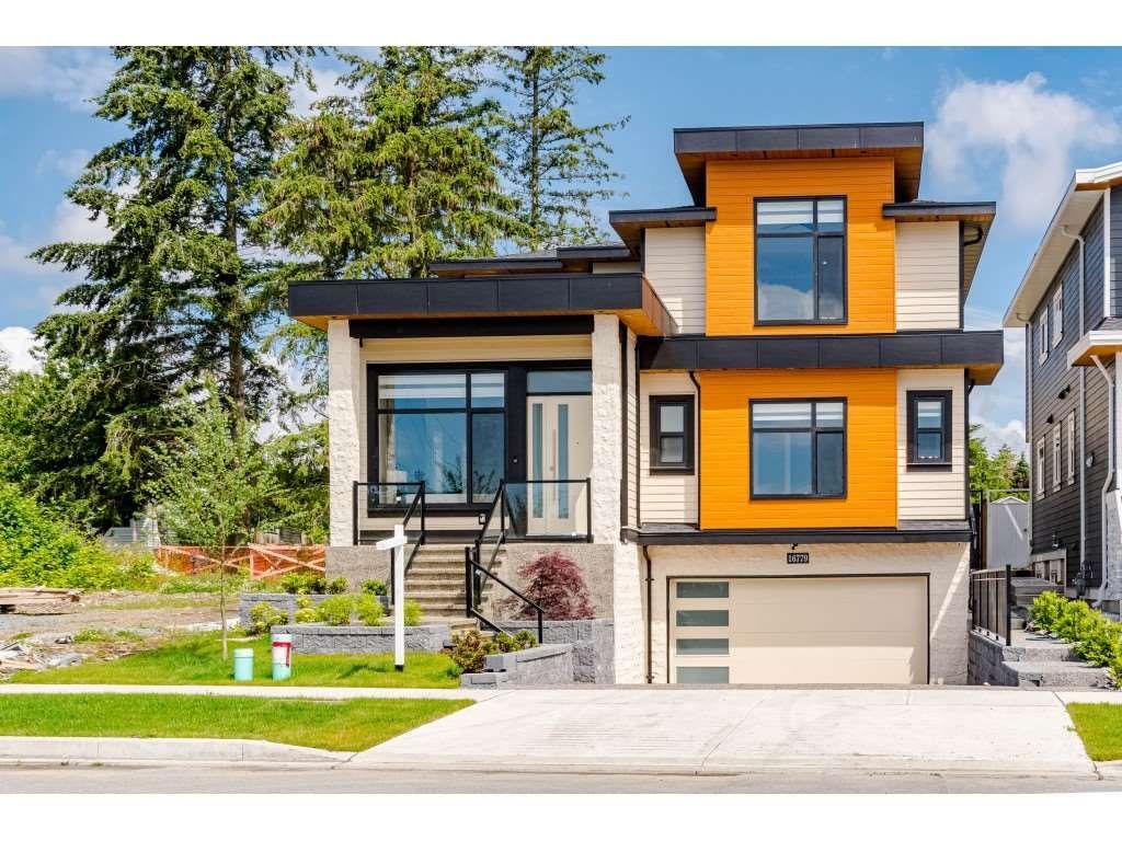 Main Photo: 16779 20A Avenue in Surrey: Grandview Surrey House for sale (South Surrey White Rock)  : MLS®# R2466851