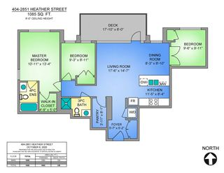 """Photo 2: 404 2851 HEATHER Street in Vancouver: Fairview VW Condo for sale in """"Tapestry"""" (Vancouver West)  : MLS®# R2512313"""