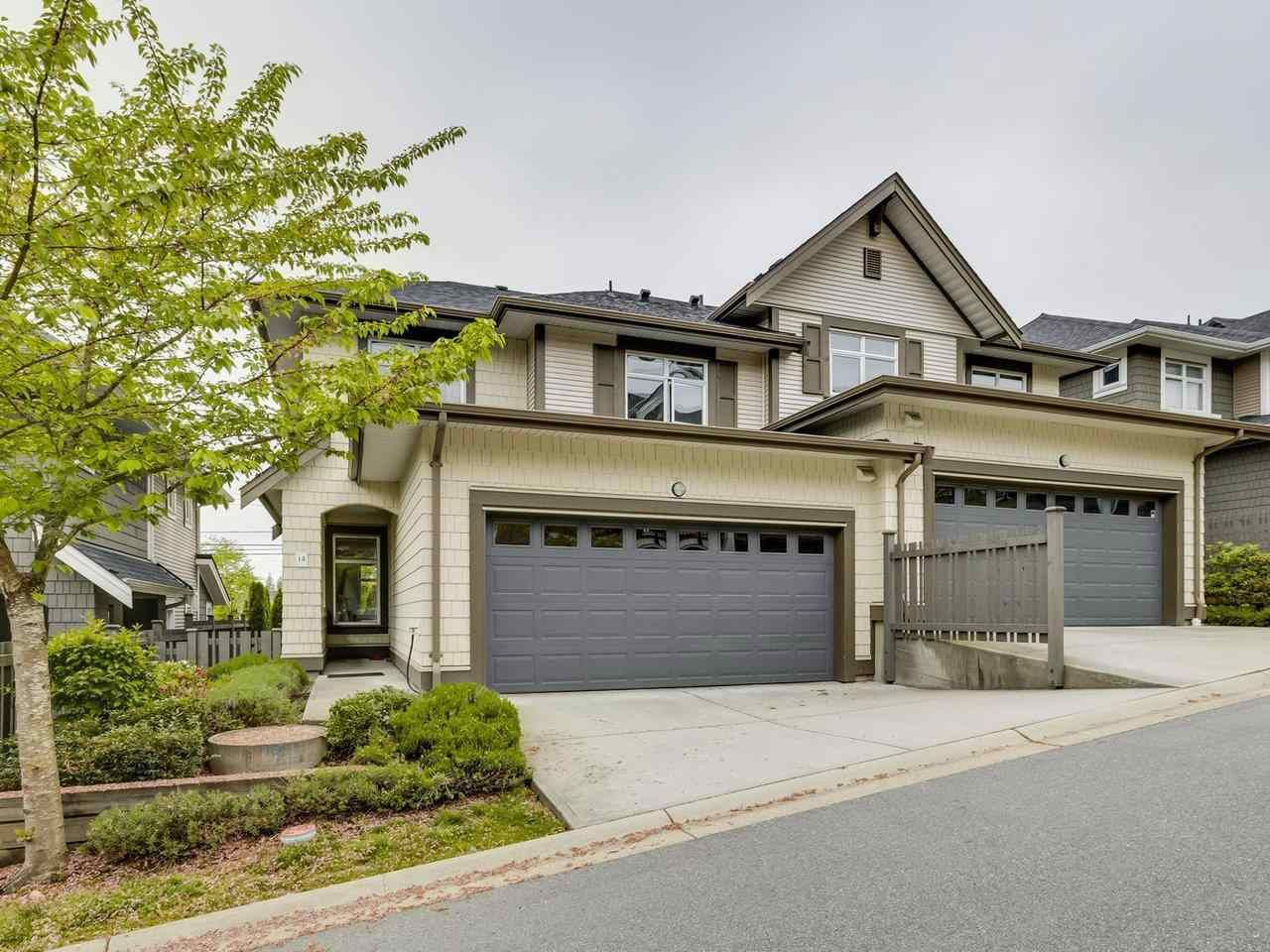 """Main Photo: 14 3400 DEVONSHIRE Avenue in Coquitlam: Burke Mountain Townhouse for sale in """"Colborne Lane"""" : MLS®# R2571443"""