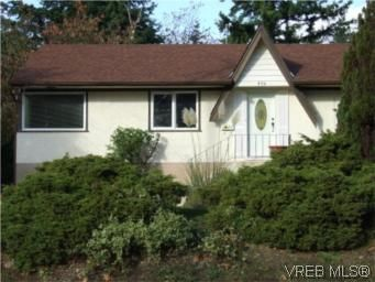 Main Photo: 376 Lagoon Rd in VICTORIA: Co Lagoon House for sale (Colwood)  : MLS®# 555099