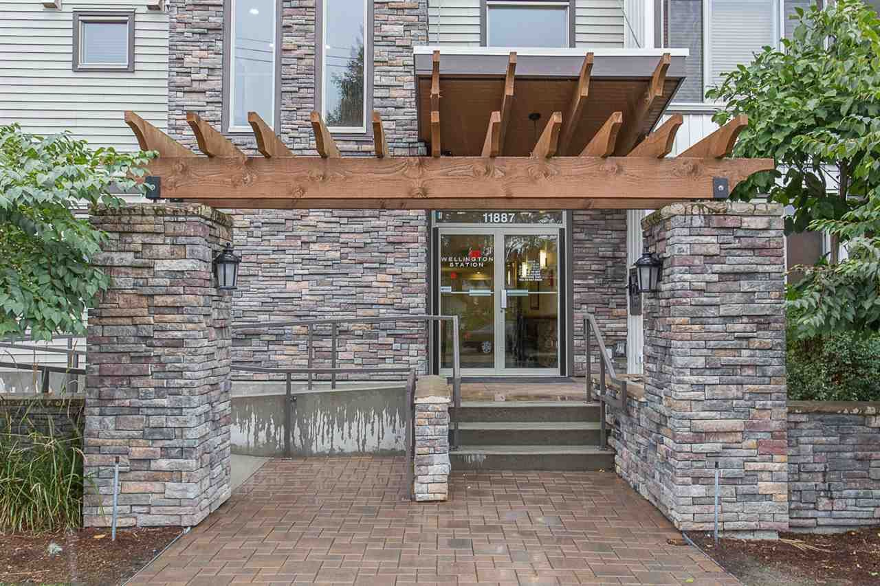 "Main Photo: 119 11887 BURNETT Street in Maple Ridge: East Central Condo for sale in ""WELLINGTON STATION"" : MLS®# R2251481"