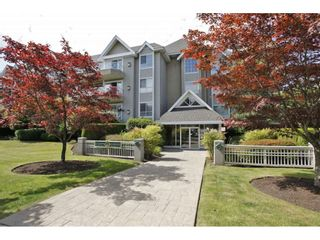 "Photo 1: 203 20217 MICHAUD Crescent in Langley: Langley City Condo for sale in ""Michaud Gardens"" : MLS®# R2442178"