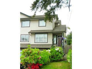 Photo 1: 1011 STEWART Avenue in Coquitlam: Maillardville 1/2 Duplex for sale : MLS®# V1066507