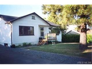Photo 1:  in VICTORIA: SW Strawberry Vale House for sale (Saanich West)  : MLS®# 412853