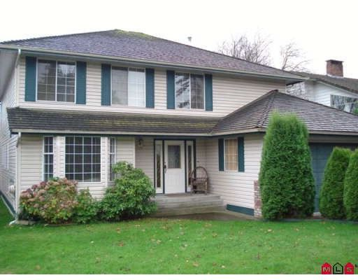 Main Photo: 18862 60TH AV in : Cloverdale BC House for sale : MLS®# F2832609