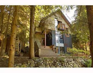 Photo 1: 1225 ADAMS Road: Bowen Island Home for sale ()  : MLS®# V645285