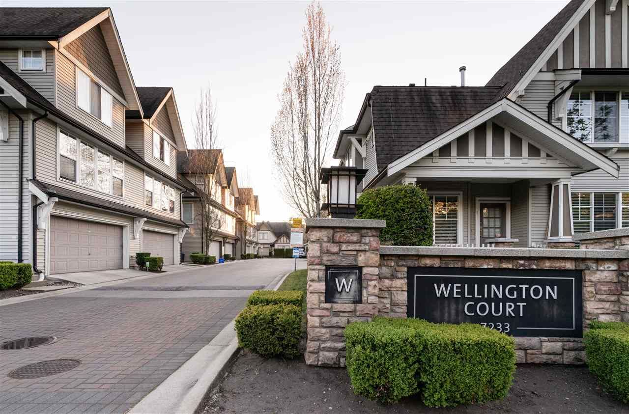 """Main Photo: 53 7233 HEATHER Street in Richmond: McLennan North Townhouse for sale in """"Wellington Court"""" : MLS®# R2569534"""