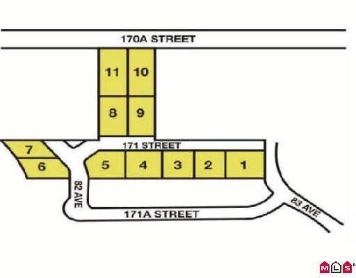 Main Photo: 8262 171ST Street in Surrey: Fleetwood Tynehead Land for sale : MLS®# F2905519