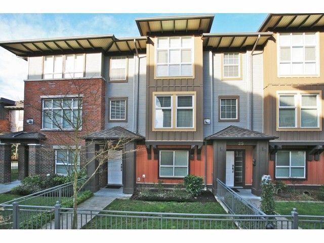"""Main Photo: # 26 18777 68A AV in Surrey: Clayton Townhouse for sale in """"COMPASS"""" (Cloverdale)  : MLS®# F1404057"""