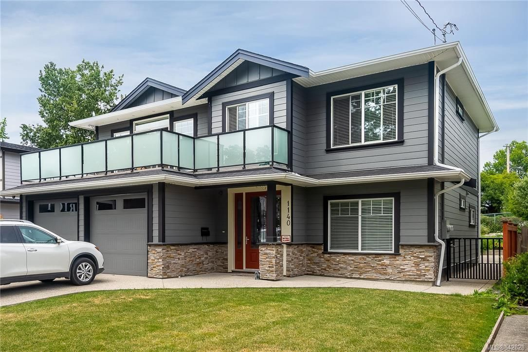 Main Photo: 1140 Knibbs Pl in Saanich: SW Strawberry Vale House for sale (Saanich West)  : MLS®# 842828