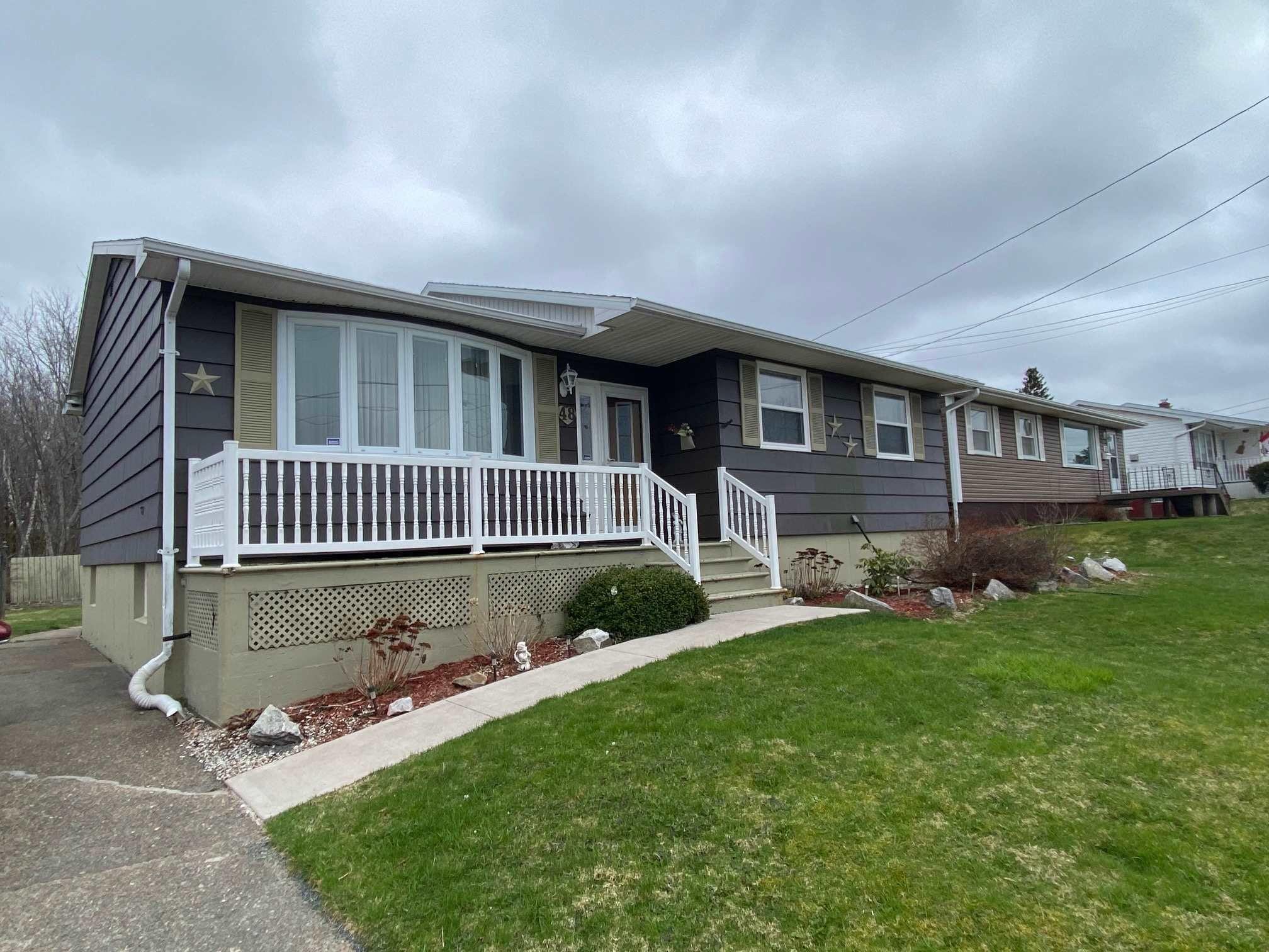 Main Photo: 48 Ranna Drive in Sydney: 201-Sydney Residential for sale (Cape Breton)  : MLS®# 202110054